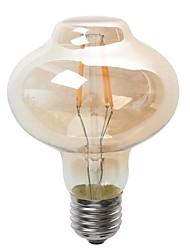 4W E26/E27 Ampoules Globe LED G80 4 diodes électroluminescentes COB Imperméable Décorative Blanc Chaud 400lm 2300K AC 100-240V