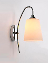 cheap -Modern Minimalist Glass Bedside Aisle Hotel Room Wall Lamp High Quality