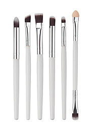 6 Eyeshadow Brush / Brow Brush / Eyeliner Brush Nylon Professional / Travel / Eco-friendly / Portable Wood Eye Others