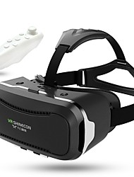 cheap -Hot Google Cardboard VR SHINECON II 2.0 Latest Upgraded Version Virtual Reality 3D Glasses  Gamepad