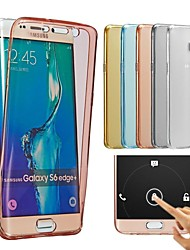 Front+Back 2 Pieces Super Flexible Soft TPU Transparent Degree Full Touch Screen Cover Case for Galaxy A310/A510/A710