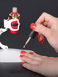 cheap -Nail Gel Bottle Holder Nail Fixed Clamp Hands Free Nail Art Design Tool