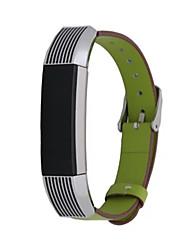 Недорогие -Ремешок для часов для Fitbit Alta Fitbit Спортивный ремешок Кожа Повязка на запястье