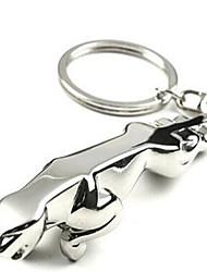 cheap -For Jaguar Cheetah Key Chain