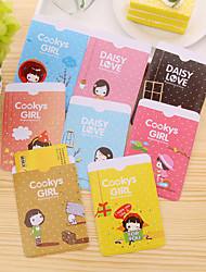 Lovely Cartoon Style Card Cover Card Protection Cute (Random Colours)