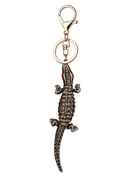 Europe And The United States New Realistic Key Chain Crocodile  Key Chain Bag Car Key Pendant Valentine's Day Gift Factory Direct Sales