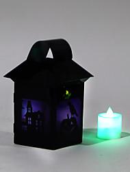 (Modello è casuale) 1pc halloween lanterne costume strega puntelli del partito