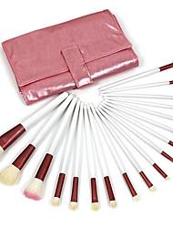 billige -Make-up pensler Professionel Makeupbørstesæt Gedehårs Børste Bærbar / Professionel Træ