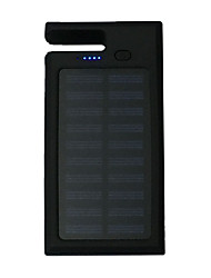 Bank-externer Batterie 5V 1.0A #A Akku-Ladegerät Taschenlampe Multi – Ausgabe Solarlade Inklusive Ständer LED