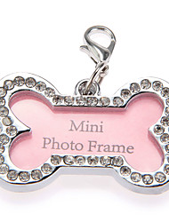 cheap -Cat / Dog ID Tag Casual Bone Plastic Pink