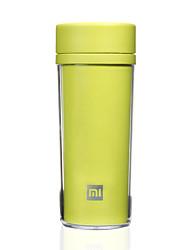 1 pezzo Mugs di Viaggio / coppa Duraturo Portatile per Posate e bicchieri da viaggio Plastica-Bianco Nero Verde