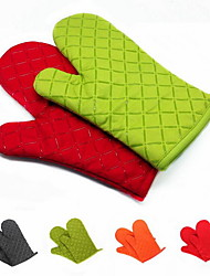 cheap -2 Pieces Pot Holder & Oven Mitt For Cooking Utensils / Bread / Cake / Cookie / Pizza Silicone Heat-insulated