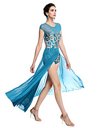 cheap -Ballet Outfits Women's Performance Sequined Lycra Sequin Sleeveless Natural