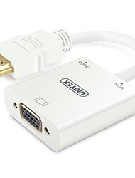 billiga -Unitek HDMI till VGA (hane till hona) adapterkabel