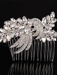 cheap -Alloy Hair Combs 1 Wedding Special Occasion Party / Evening Headpiece