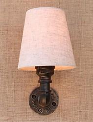 Недорогие -AC 220v-240v 3w e27 bg816 деревенское / лоджии латуни особенность для лампы includedambient света стены бра настенный светильник