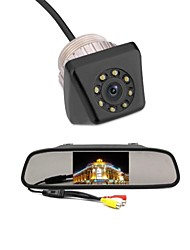 cheap -4.3 Car TFT LCD Monitor Reverse Car Rear View Backup Camera Kit
