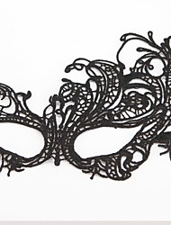 cheap -Fashion Swan Pattern Lace Party Mask Halloween Props Cosplay Accessories