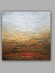 economico -dipinto a mano astratto / paesaggio dipinto ad olio dipinto a mano moderno / classico un pannello dipinto ad olio su tela
