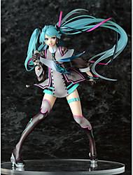 preiswerte -Anime Action-Figuren Inspiriert von Vocaloid Hatsune Miku PVC 22 CM Modell Spielzeug Puppe Spielzeug