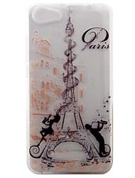 baratos -Para wiko lenny3 lenny2 telefone capa tampa torre padrão pintado tpu material para wiko você sente você se sente lite ensolarado jerry