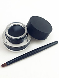 Eyeliner Crema Impermeabile / Naturale Nero Occhi 1 Others