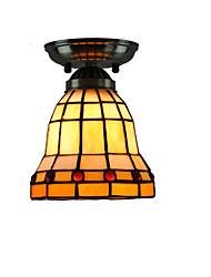 14cm Retro Tiffany Ceiling Lamp Glass Shade Flush Mount Living Room Bedroom Dining Room Kids Room light Fixture