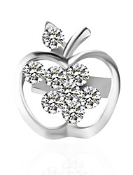 cheap -Women's Brooches - Personalized / Stylish Silver Brooch For Wedding / Dailywear
