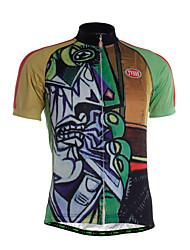 TVSSS Camisa para Ciclismo Homens Manga Curta Moto Camisa/Roupas Para Esporte Blusas Secagem Rápida Zíper Frontal Respirável Macio