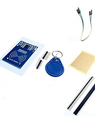 cheap -MFRC-522 RC522 RFID RF IC Card Inductive Module with Free S50 Fudan Card & Key Chain and Accessories for Arduino