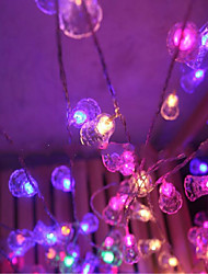 cheap -Led Twinkle Light Lights Flashing A Classic Ball Lamps Chandeliers 9 Meter 40 Lamp Socket