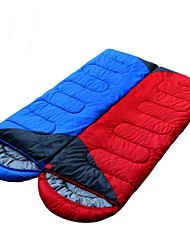 Sleeping Bag Double Wide Bag Double -5-15 Hollow Cotton Keep Warm Moistureproof/Moisture Permeability Waterproof Portable Windproof Dust