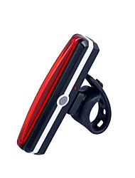 Cycling Bike Lights / Safety Lights LED LED Super Light / Compact Size Lithium Battery 100 Lumens USB Red Cycling/Bike-Lights