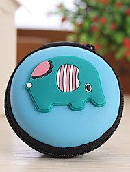 cheap -Animal Shape Closed Travel Headphone Change Storage Box