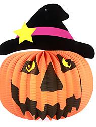bola 1pc dia das bruxas para decoração do partido dom festa a fantasia prop ornamentos novidade pendurar lanternas de papel abóbora