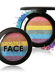 FOCALLURE New Rainbow Highlighter Palette