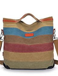 Women Shoulder Bag Canvas Casual Outdoor Screen Color