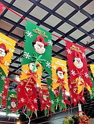 дизайн случайные рождественские украшения подарки кольцо тростника колокола висят играть роль ofing елочные украшения Рождественский