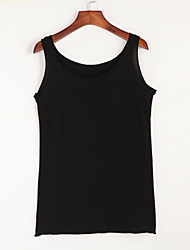 cheap -Women's Casual Tank Top - Solid Colored