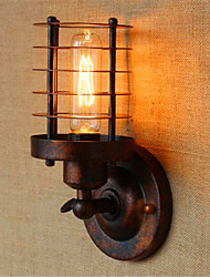 cheap -AC 110-120 AC 220-240 40 E26/E27 Rustic/Lodge Country Antique Brass Feature for Bulb Included,Ambient Light Wall Sconces Wall Light