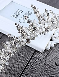 Imitation Pearl Alloy Tiaras Headbands Wreaths Headpiece