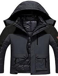 Men's Hiking Jacket Waterproof Thermal / Warm Comfortable Top for Running Winter L XL XXL XXXL XXXXL