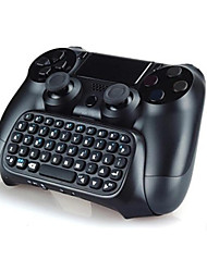 cheap -Bluetooth Mini Wireless Chatpad Text Chat Message Game Controller Keyboard Console for PS4 Controller