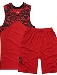 Homme Sans Manches Sport de détente Badminton Basket-ball Course/Running Ensemble de Vêtements Baggy Séchage rapide Respirable