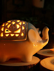 Lucky Elephant Candle Holder / Jewel Box / Beter Gifts®Home Dcor