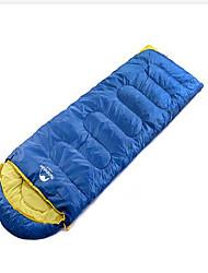 Sacco a pelo Rettangolare Singolo 10 Piume 300g 190X50 Campeggio Viaggi Al CopertoImpermeabile Anti-pioggia Anti-vento Ben ventilato