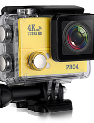 cheap -PRO4 Sports Action Camera 20MP 4608 x 3456 WiFi Adjustable Wireless Wide Angle 30fps No ±2EV No CMOS 32GB H.264 Time-lapse Burst Mode