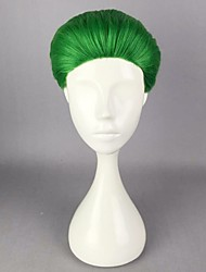 Anime Joker Green 30cm Short Synthetic  Hair Heat Resistant  Party Halloween Cosplay Costume Wigs