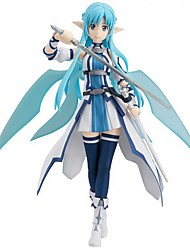 Figures Anime Action Inspiré par Sword Art Online Cosplay Anime Accessoires de Cosplay figure Bleu PVC