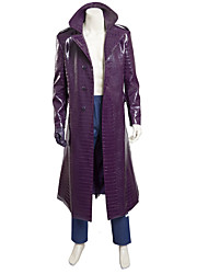 cheap -Cosplay Costumes /  Squad Joker Cosplay Costume Trench Coat Jacket Halloween Costumes Custom Made